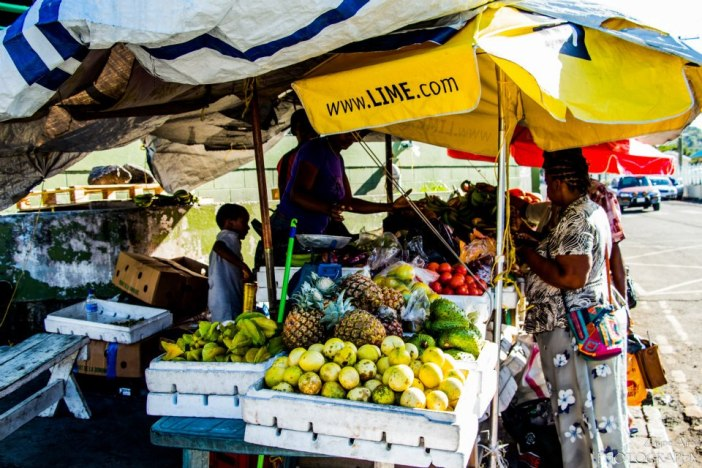 Photo Credit: Zayne AirallLocal Antiguan Black Pineapples... yumm