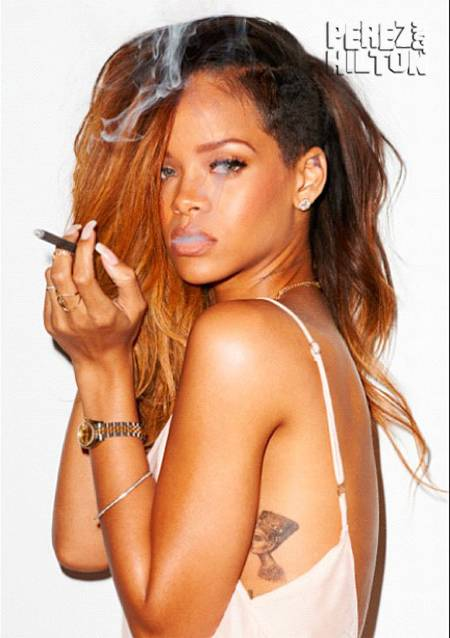 Rihanna is known for her bad girl ways.