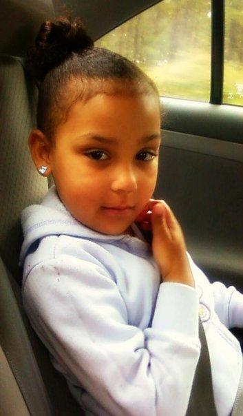 Photo Shaniya taken shortly before her rape and murder.
