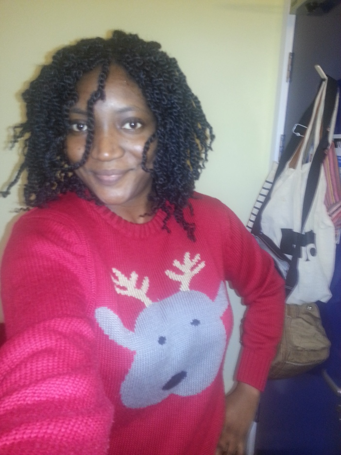 Christmas Jumper check!