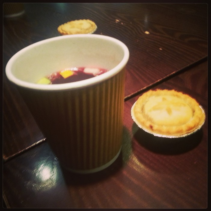 Mulled Wine and Minced Pie!