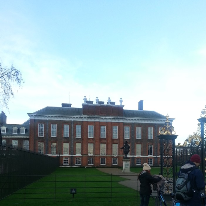 Kensington Palace (the walkaround after Christmas Lunch)